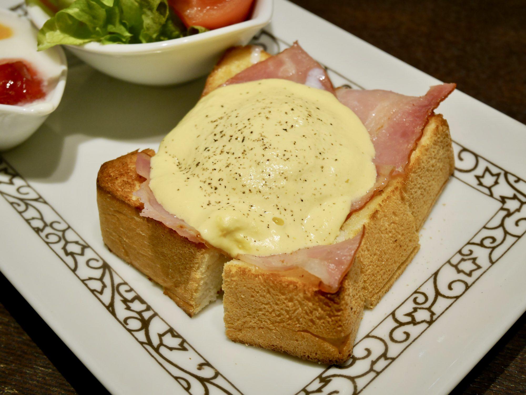 名古屋でモーニング!贅沢気分を味わえる元町珈琲のエッグベネディクト