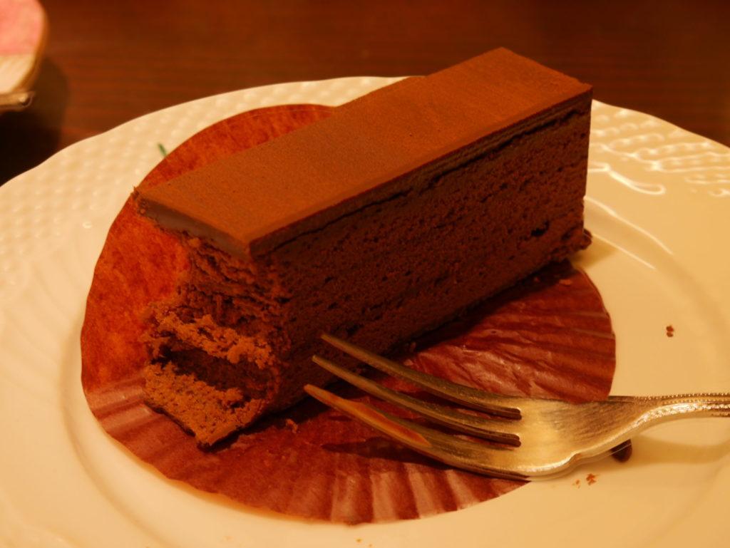 ヒロコーヒー チョコレートケーキ
