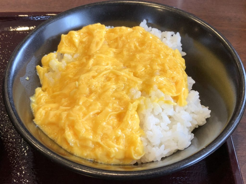 CoCo壱ご飯スクランブルエッグのせ