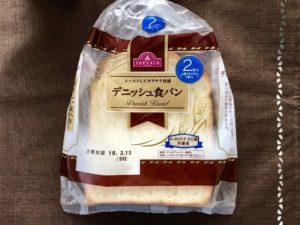 トップヴァリュ「デニッシュ食パン」袋表