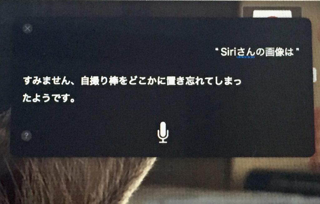 Siri会話画面