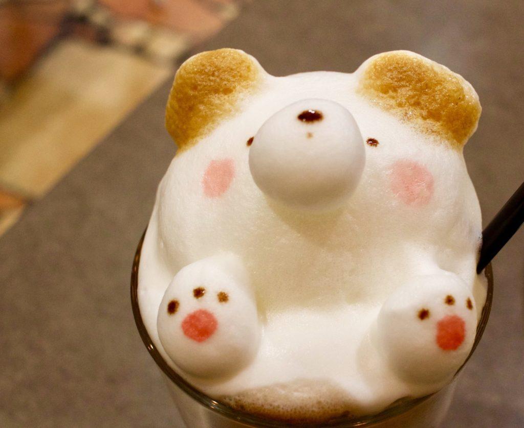 【名古屋】Light cafeの可愛すぎる♡3Dラテアート@栄セントラルパーク店