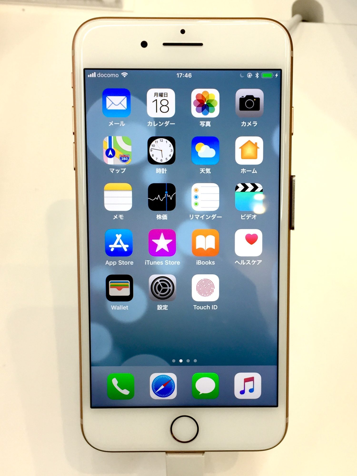 iPhone8、iPhone 8 Plusをショップで触って比較してみた!
