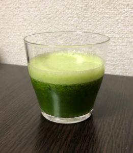 ヘルシオのスロージューサーで作った青汁が、おいし過ぎて驚いた!