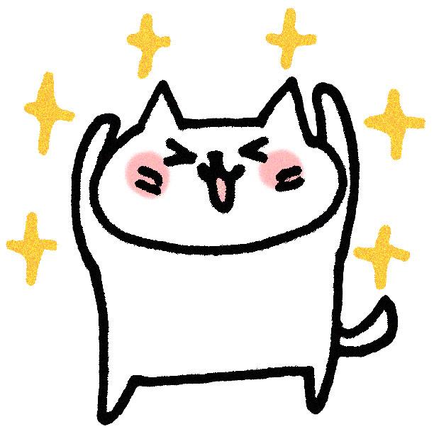 キュートな猫さん動画♪お手てでハートマーク♡を作るネコ
