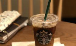 スタバのアイスコーヒー
