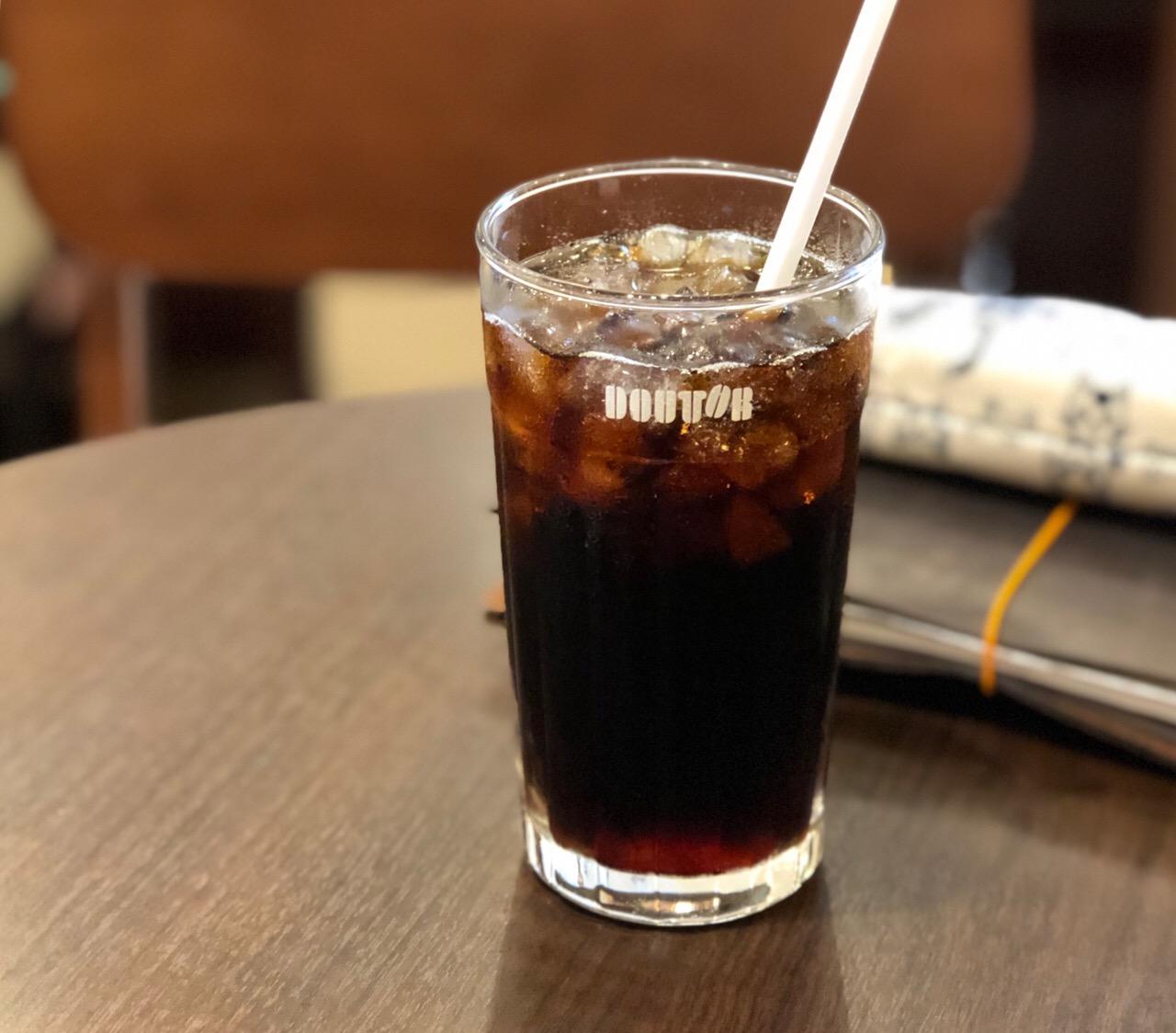 ドトールのカフェインレス「アイスコーヒー」を飲んでみた!