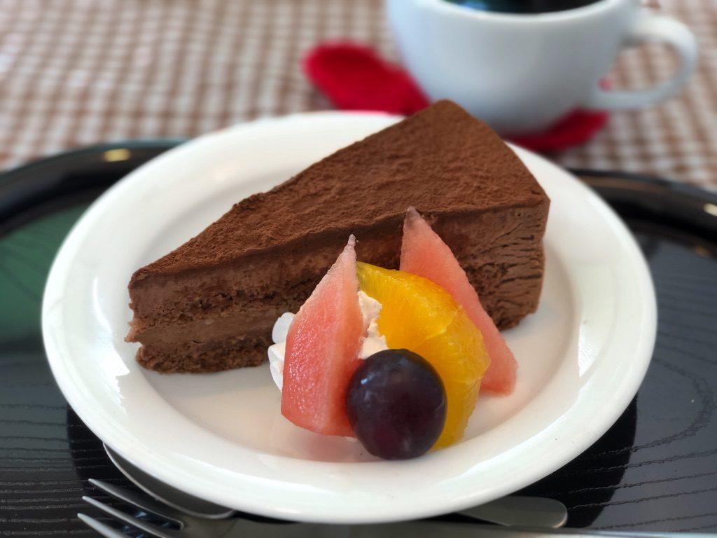 チョコレートケーキ(ないすうぇいぶカフェ)