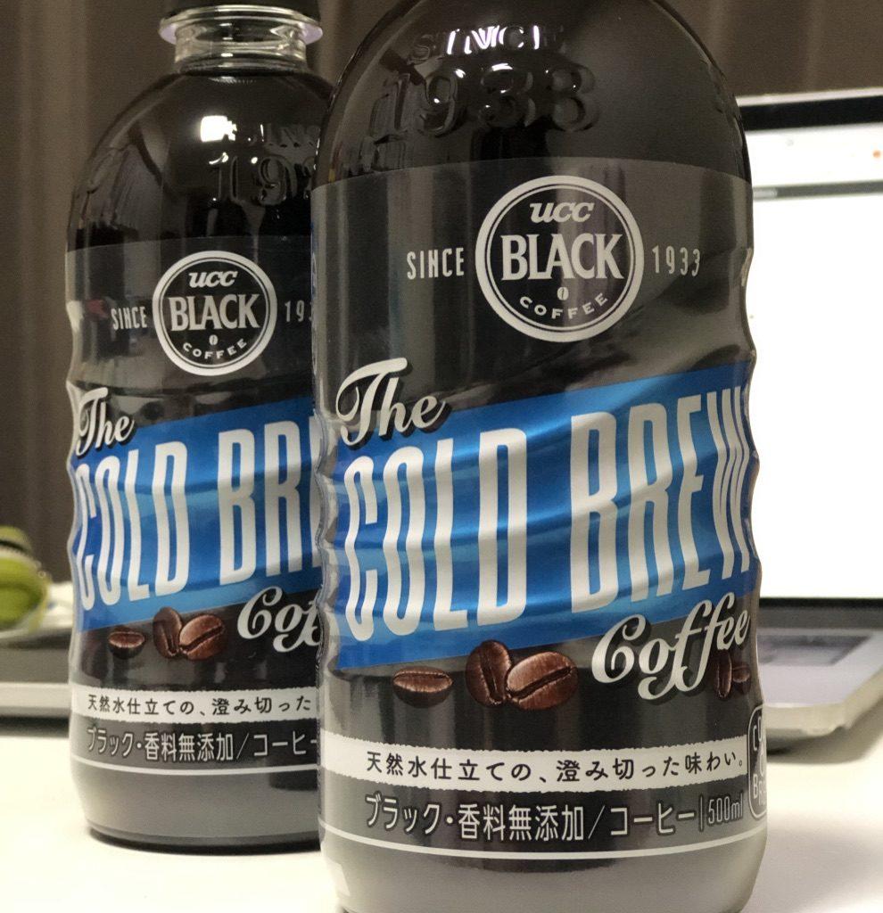 苦味がなくさらりと飲めるUCCコールドブリューコーヒーにハマっています